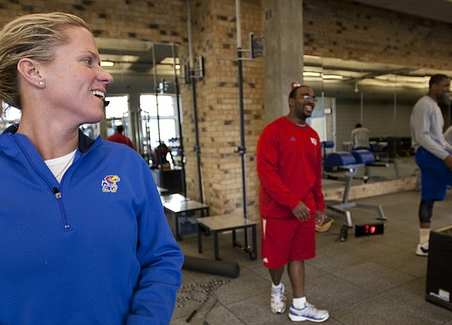 Departing KU strength coach Andrea Hudy: 'Kansas means the world to me'
