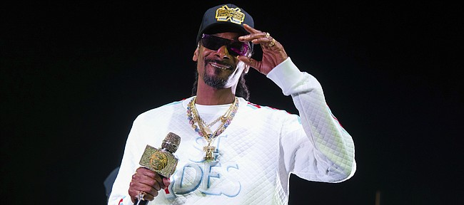 Snoop Dogg performs onstage at State Farm Arena on Saturday, Jan. 5, 2019, in Atlanta.