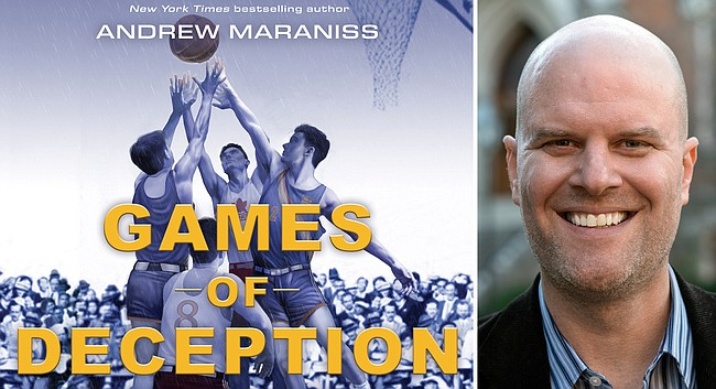 "Andrew Maraniss' ""Games of Deception: The True Story of the First U.S. Olympic Basketball Team at the 1936 Olympics in Hitler's Germany"" releases Tuesday, Nov. 5."