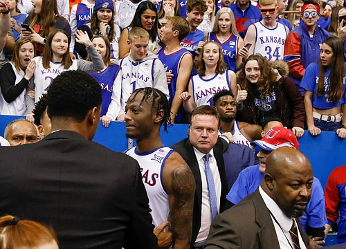 Kansas basketball coach Bill Self vows team will learn and grow from ugly brawl with Kansas State