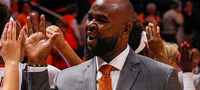 Terry Nooner, the former Kansas men's basketball walk-on who spent the 2019-20 season as an assistant coach with Texas women's basketball, was hired to join the KU women's program by head coach Brandon Schneider on April 23, 2020.