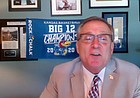 KU Athletics Director Jeff Long speaks during a board of directors meeting held via Zoom on Wednesday, June 3, 2020.