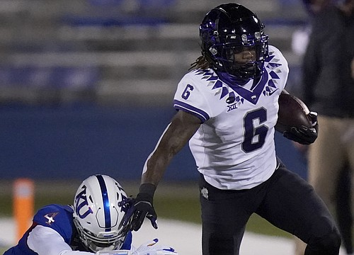 3 TCU passes and a whole lot of run calls wipe out Jayhawks