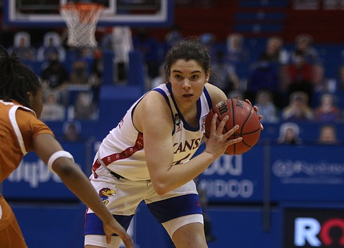 Slow start dooms Kansas women in 61-52 home loss to Texas