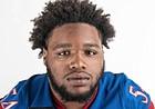 Kansas football defensive lineman Eddie Wilson