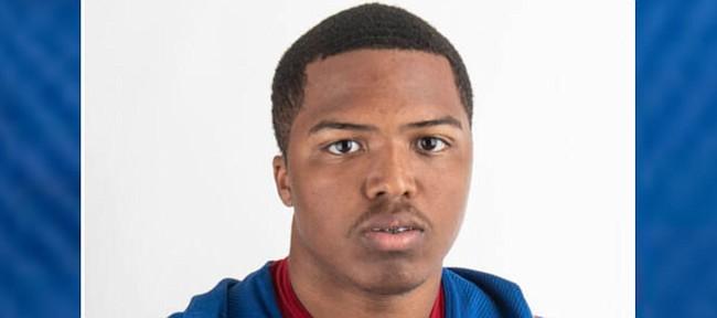 Kansas football linebacker Rich Miller