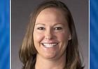 Kansas women's golf coach Lindsay Hulwick Kuhle