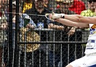 Gleb Dudarev competes in the hammer throw competition during his collegiate career with the University of Kansas. Dudarev, who will be representing Belarus, is set to make his first trip to the Olympic Games in Tokyo. Photo courtesy of Kansas Athletics.