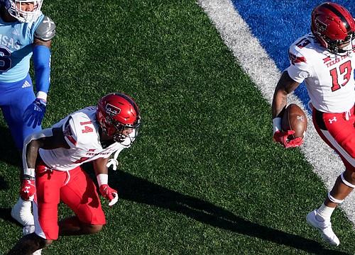 KU football avoids shutout, but drops homecoming matchup with Texas Tech, 41-14