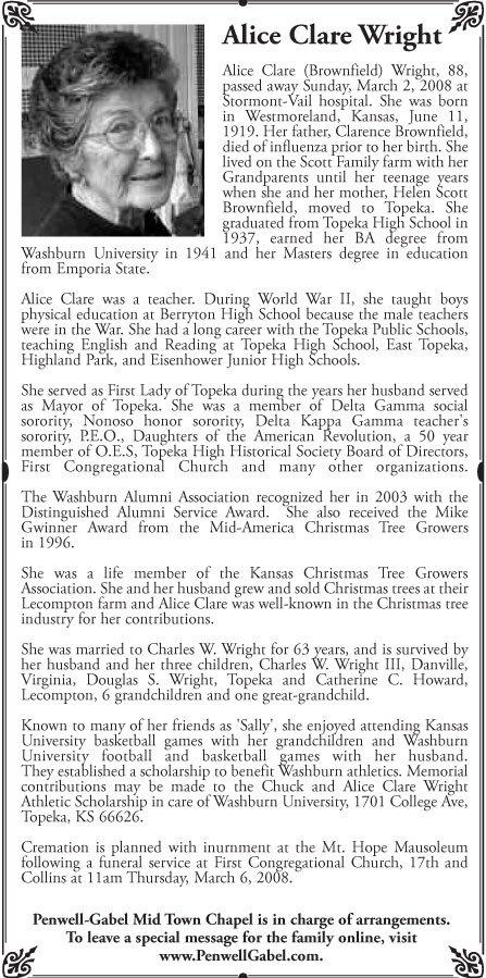 Obituaries / LJWorld.com