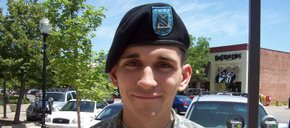 Photo of Pvt. David Thibault