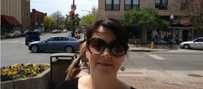 Photo of Sarah Soldering