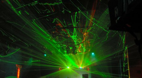 Liquid Laser Light Show