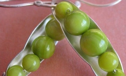 Peapod Earrings