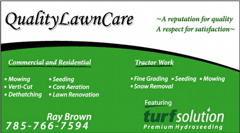 Quality Lawn Care | Lawrence, KS