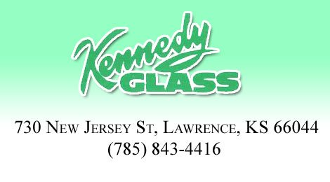 Kennedy Glass Header