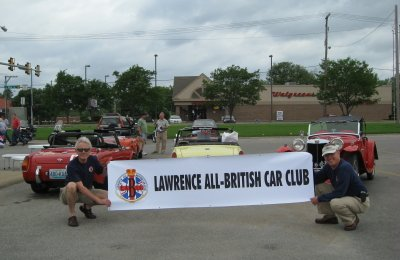 FIRST CLUB CAR SHOW, JUNE 2008