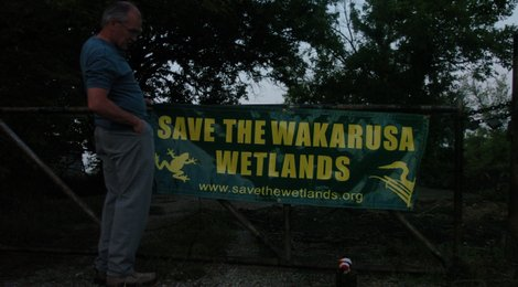 Help Save the Wakarusa Wetlands