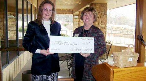 2009 Fundraiser Donation
