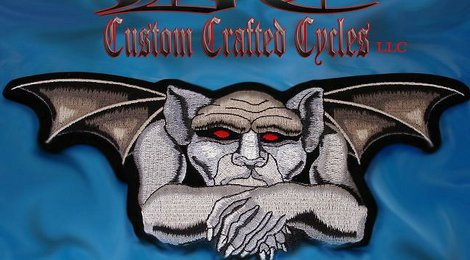 DC Custom Crafted Cycles Logo