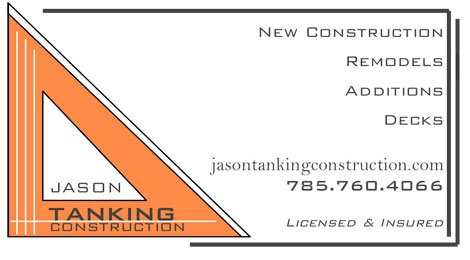 Jason Tanking Construction