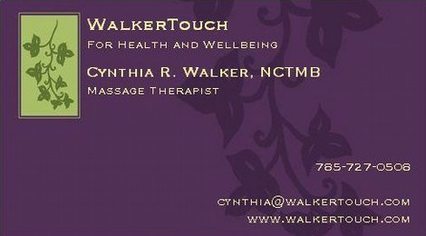 Cynthia Walker Touch Massage