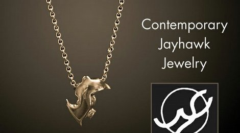 Contemporary Jayhawk Jewelry