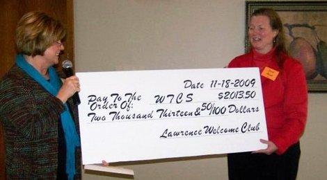 2009 Charity Donation