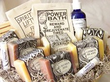 Healing Moon Soaps Gift Basket