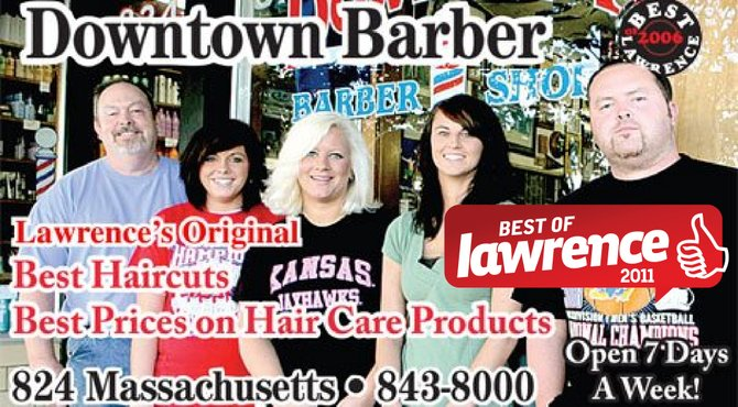 Barber Shop Lawrence Ks : Photo Downtown Barber Shop Lawrence, KS