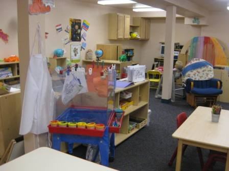 adult learner class room set up