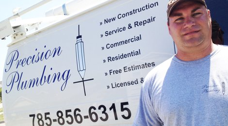 Shawn Hout, owner of Precision Plumbing