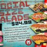 Social Size Salads!