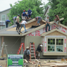 Habitat for Humanity job June 2014