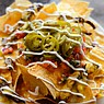 Delectable Nachos at the Bird Dog