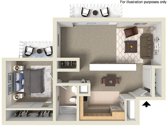 Photo Meadowbrook Apartments Townhomes 2 and 3 Bedroom