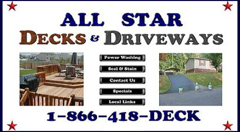  All Star Decks &amp; Driveways