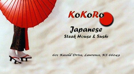 Kokoro Japanese Sushi & Steakhouse