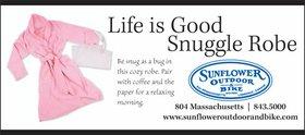 Snuggle Robe ad