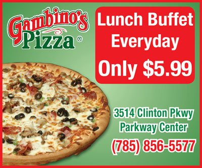 Gambino pizza coupons manhattan ks