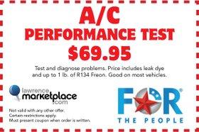 A/C Performance Testing ad