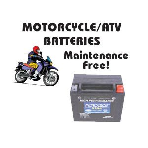Motorcycle/ATV Batteries