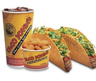 EZ Combo #1 - Two Crispy Tacos