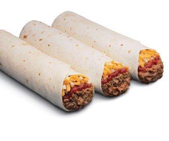 Beef, Bean & Combo Burrito
