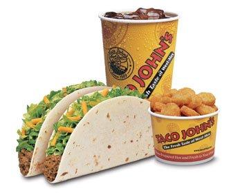 EZ Combo #3 - Two Softshell Tacos