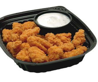 Crunchy Chicken with Dipping Sauce