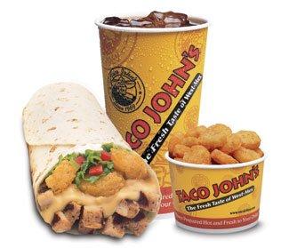 EZ Combo #5 - Meat & Potato Burrito