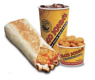 EZ Combo #6 - Grilled Burrito