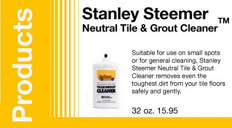 Stanley Steemer Neutral Tile & Grout CleanerTM