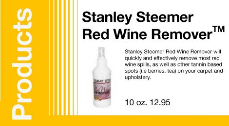 Stanley Steemer Red Wine RemoverTM